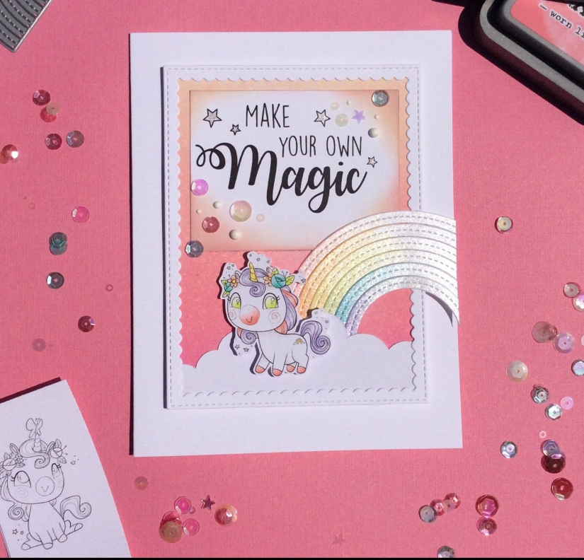 CDD unicorn card