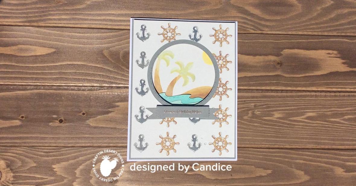 coloring creative challenge July ocean scene watermark