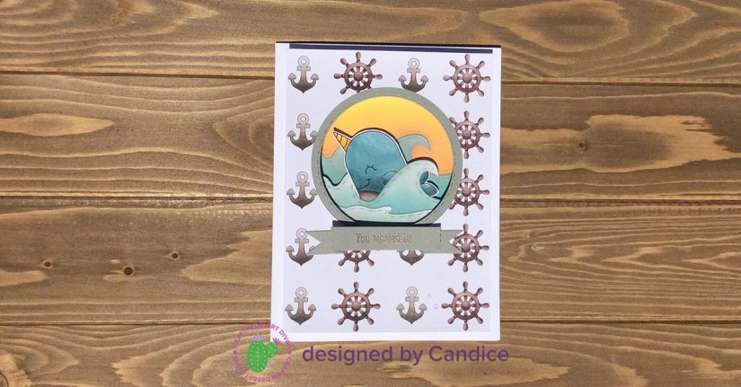 coloring creative challenge July whale watermark