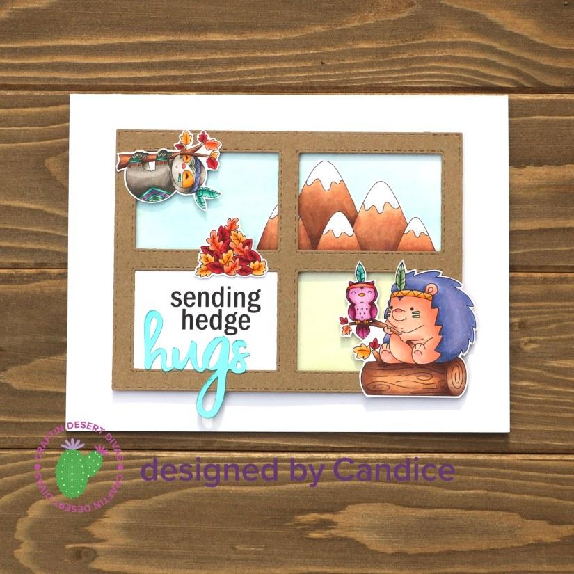 hedgehog card 2 square