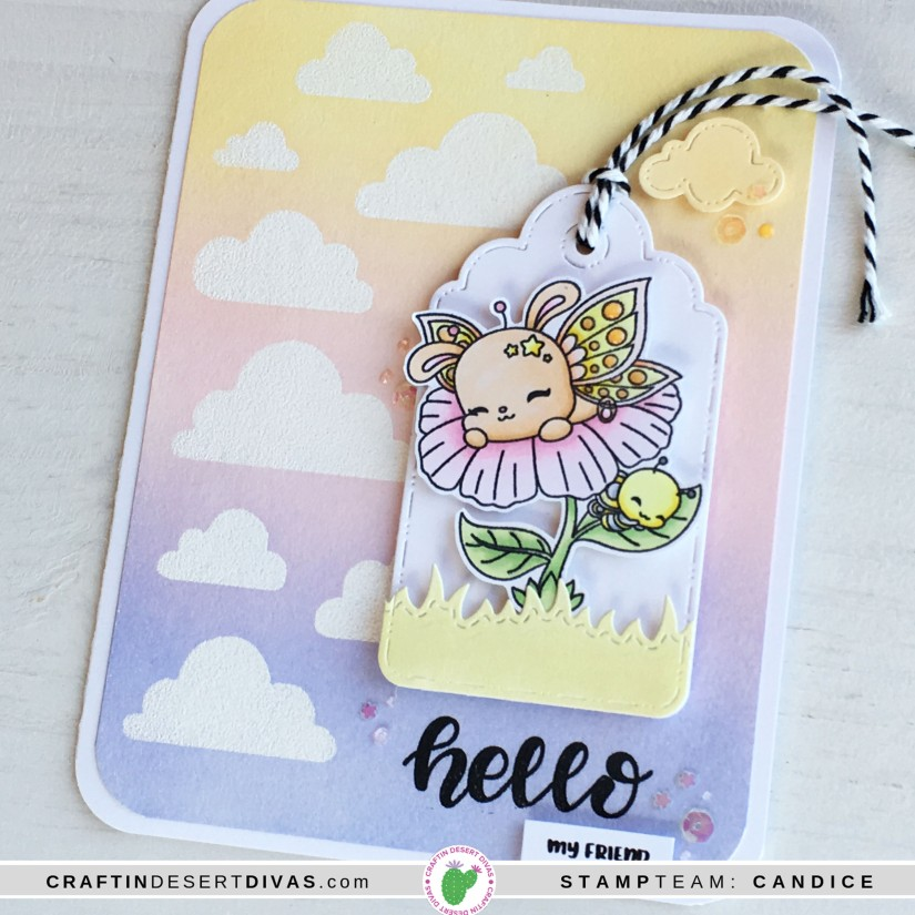 CDD march release butterfly cuties card 2 close up