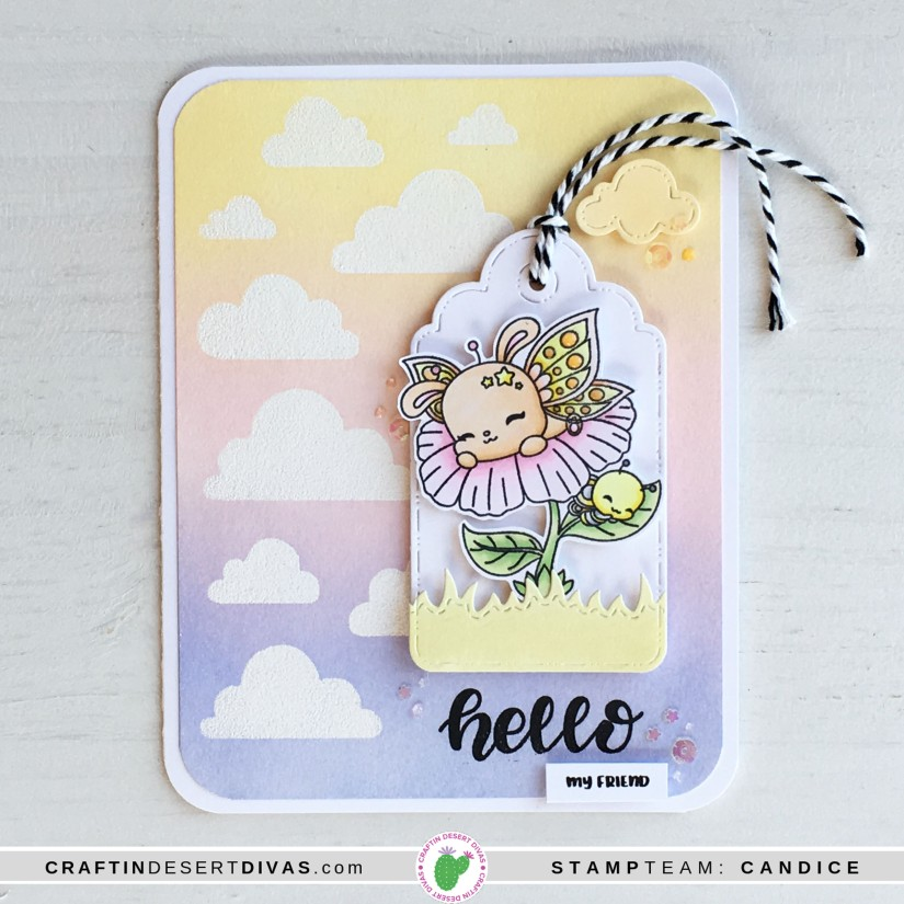 CDD march release butterfly cuties card 2