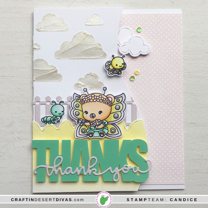 CDD march release butterfly cuties card 3