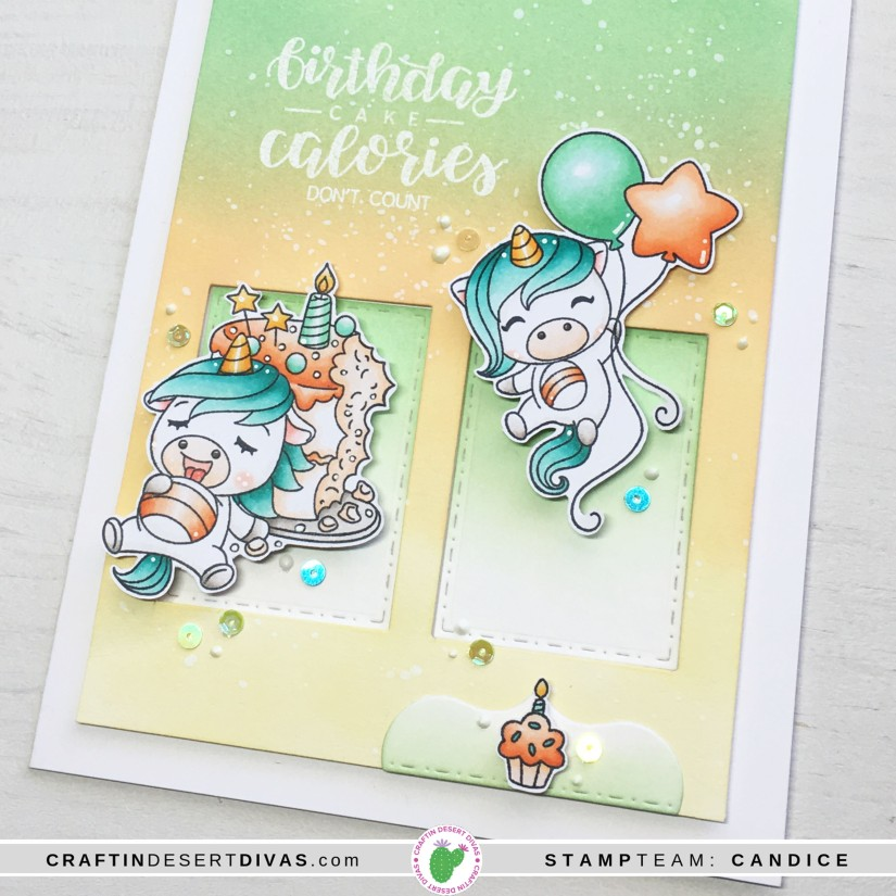 CDD april release cake tester card 1 close up