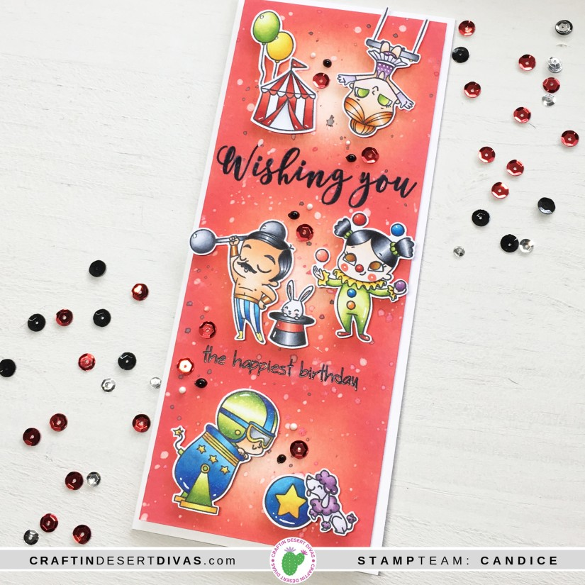 CDD May release Big Top card 1