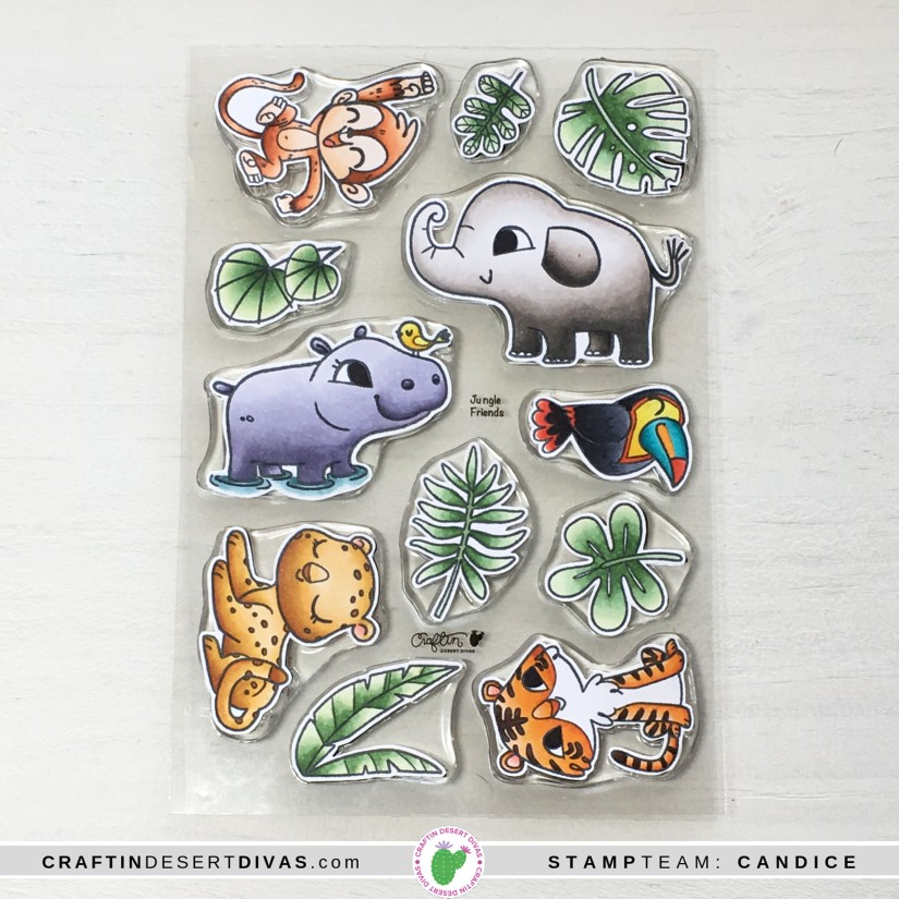 CDD May release Jungle Friends colored up
