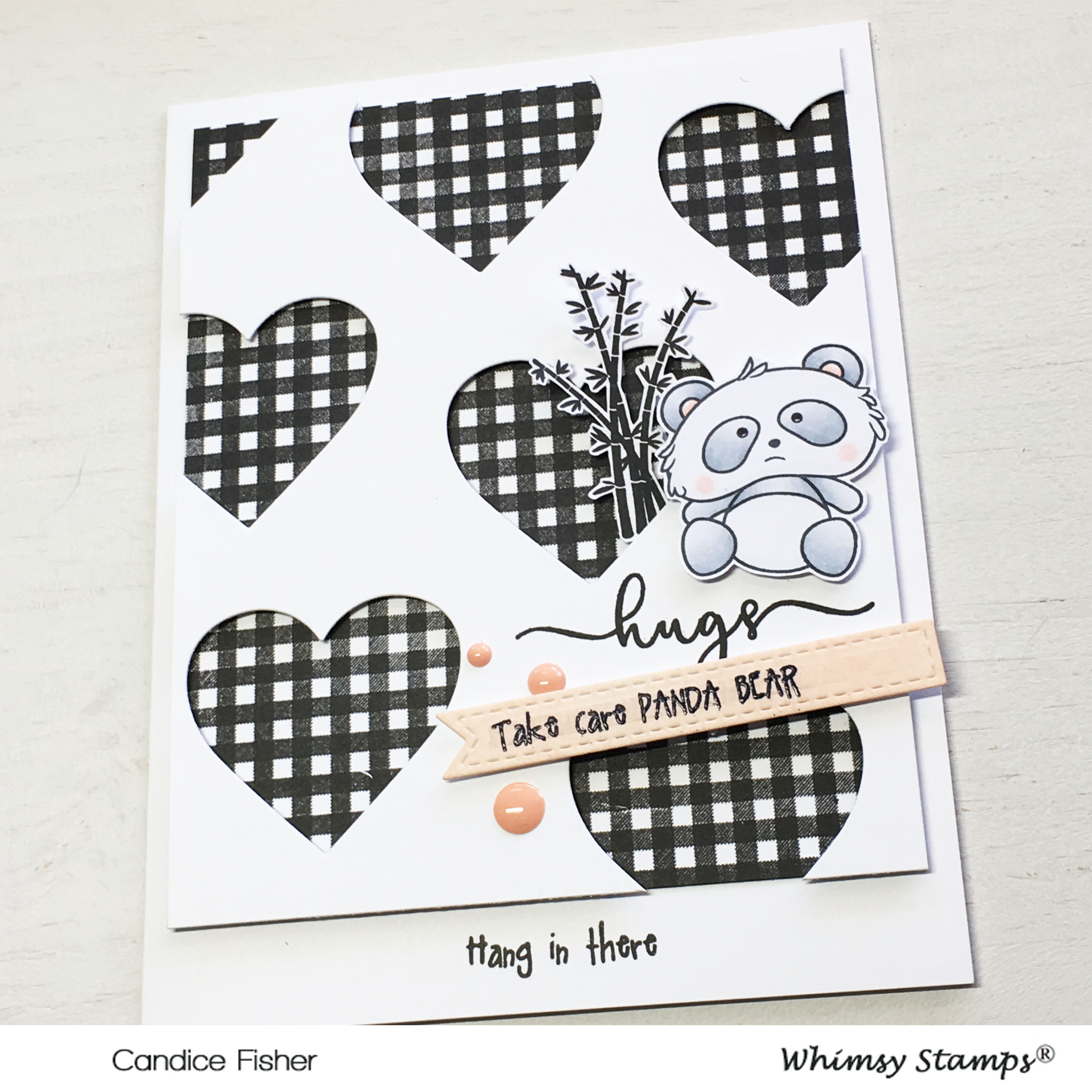 GD whimsy stamps card 3 side