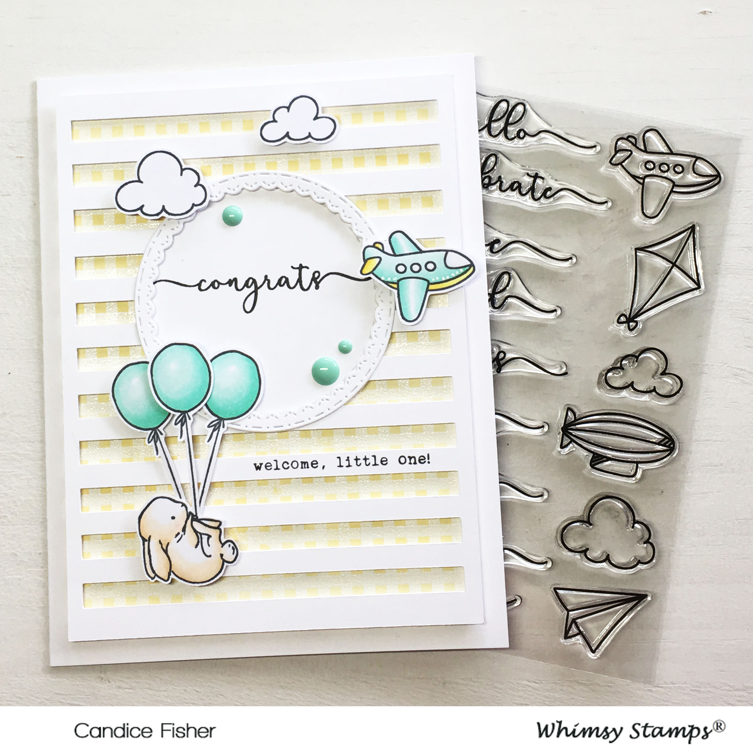 GD whimsy stamps card 4 with stamp set