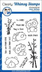 panda butt stamp set