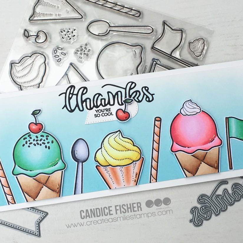 CAS July release ice cream close up