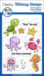 WS baby sea creatures stamps