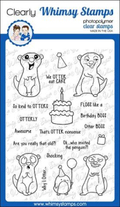 WS birthday otters stamps