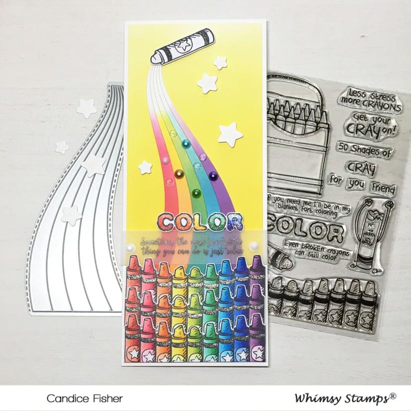 august release-crayon slim line
