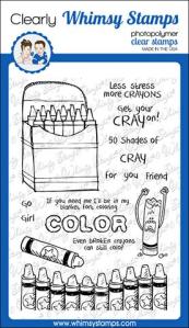 WS crayons stamp set