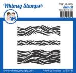 WS making waves stencil