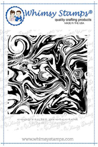 WS marble background rubber stamp