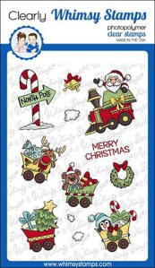 WS santas train stamp set