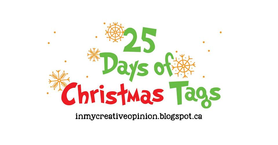 25 days of christmas tags logo