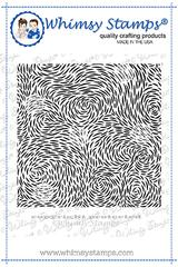 WS illusions background rubber stamp