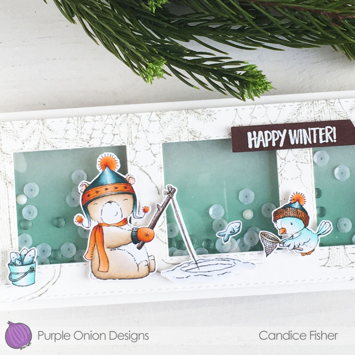 1231-happy winter close up